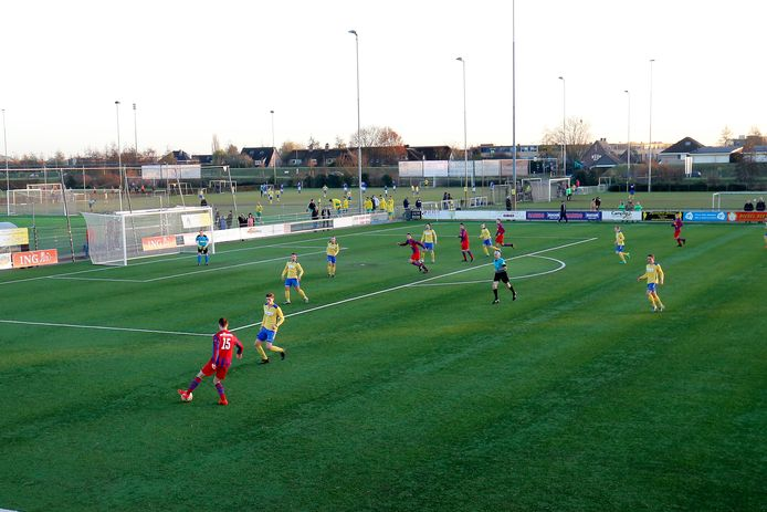 Sportpark De Kruisboog in Houten, thuishaven van voetbalclub Delta Sport.