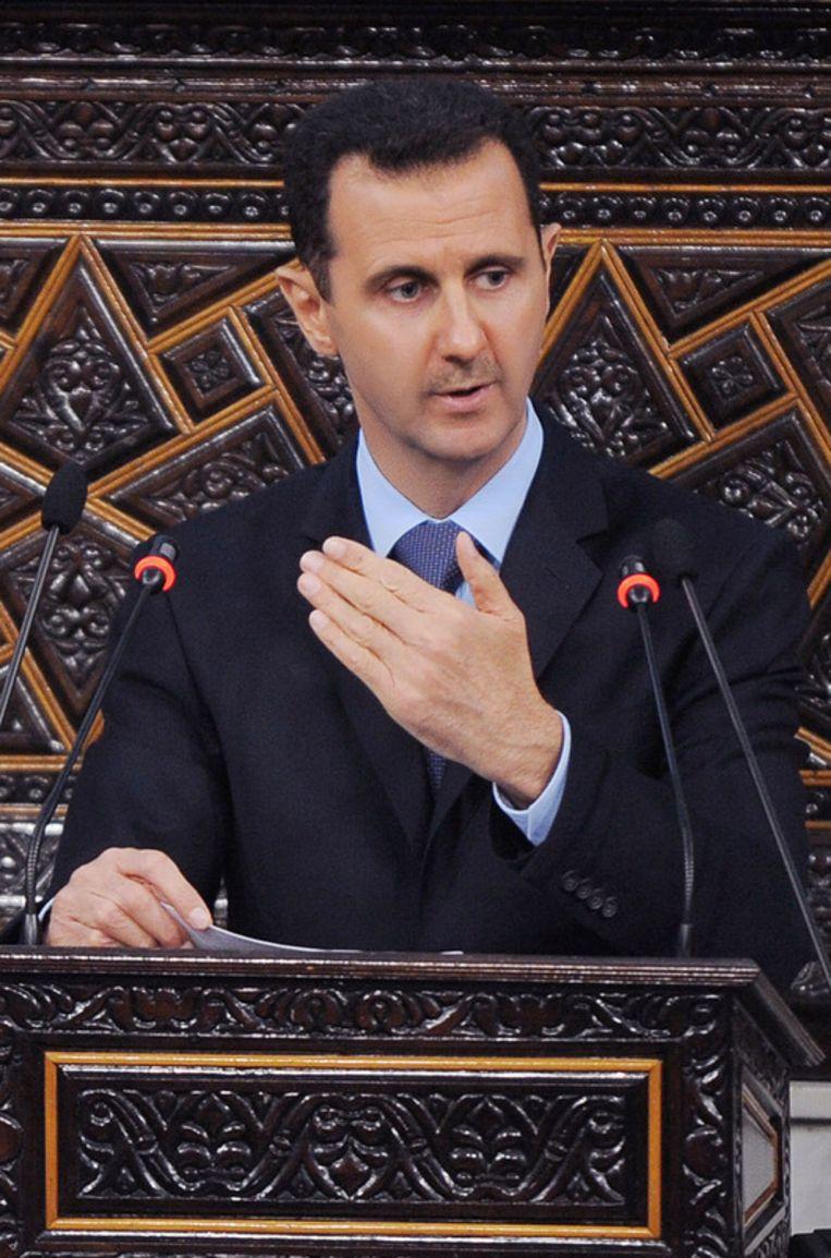 Bashar al-Assad. Beeld ap