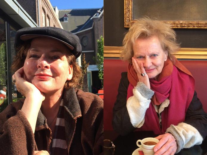 Ingrid van de Linde (links) en Renée Schouwenberg