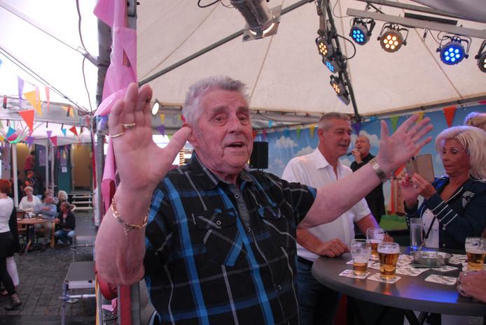 Toon Greebe vierde feest bij De Paternoster.