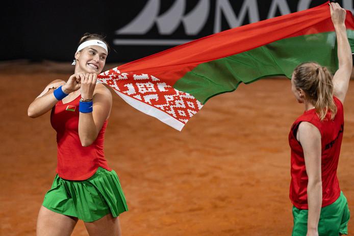 Tout est bien qui finit bien pour Aryna Sabalenka et la Biélorussie qui, comme les Belges, seront de la partie à Budapest, en avril.