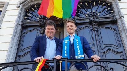 Burgemeester steunt Lokerse finalist Mister Gay Belgium