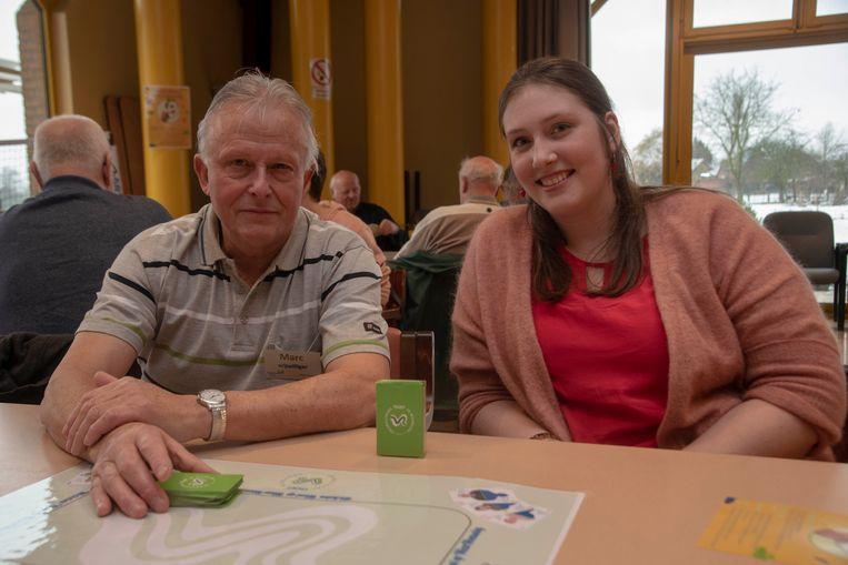 Kleurenwiezen in Wichelen : Marc Verbrugghe en Deborah De Winter.