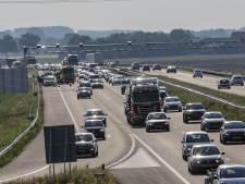 File bij Roosendaal na ongeluk op A58, weg richting Bergen op Zoom is weer vrij
