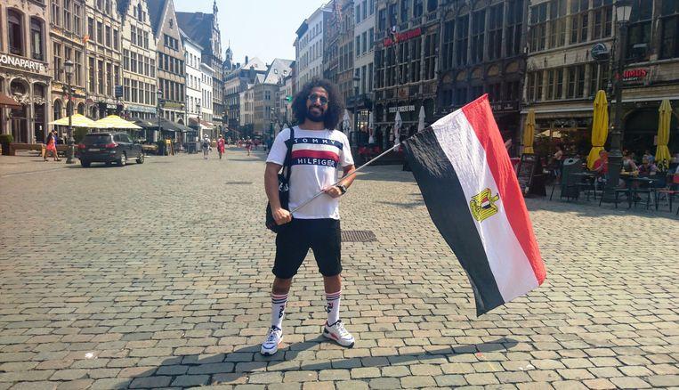 Ram uit Egypte op de Grote Markt.