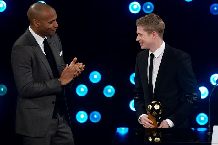 Thierry Henry et Kevin De Bruyne
