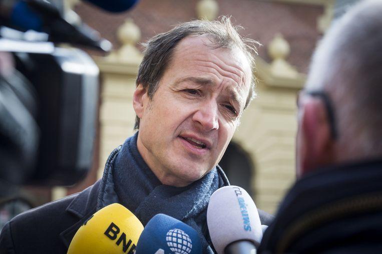 Staatssecretaris Wiebes Beeld anp