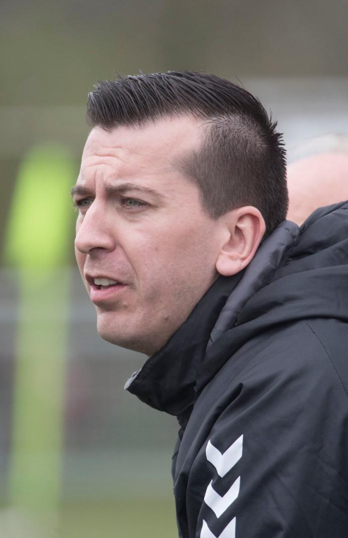 Blauw Geel'55-trainer David Wagensveld is bezig aan zijn derde jaar in Ede.
