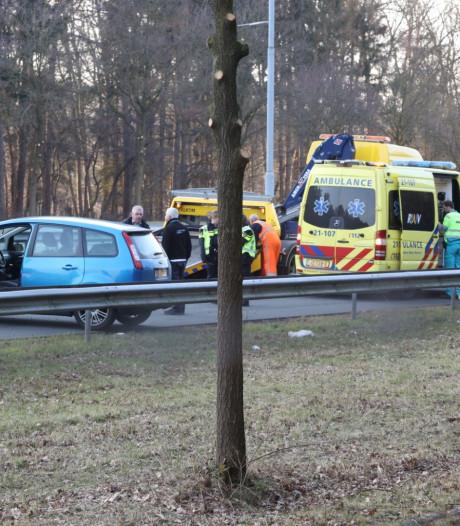 Drie auto's botsen op A2 tussen Best en Boxtel: weg weer vrij