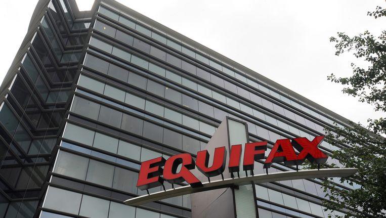 De kantoren van Equifax in Atlanta, Georgia in de Verenigde Staten.