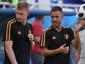 Kevin De Bruyne et Eden Hazard nommés au Ballon d'Or