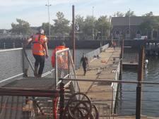 Tijdelijke brug Middelburg klaar voor gebruik