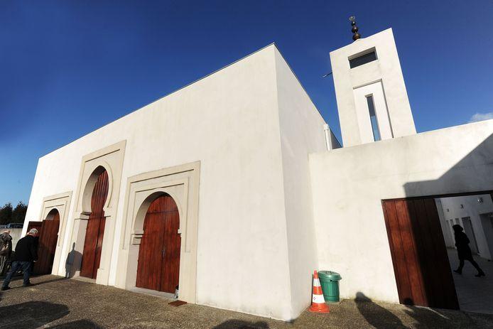 Archieffoto van de moskee in Bayonne.