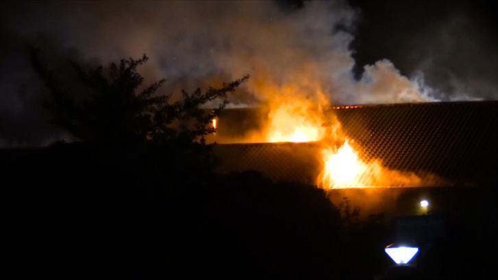 Grote brand in restaurant van vakantiepark in Zeewolde