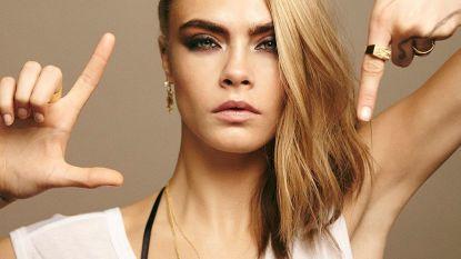 Cara Delvigne gaat blond... platinablond