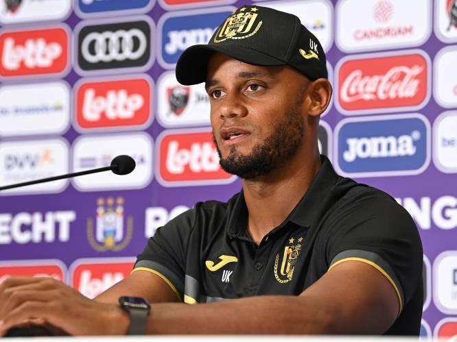 """Kompany spreekt zich uit over komst van Nilis en het belang van de topper tegen Standard: """"Voor zo'n matchen doe je het"""""""