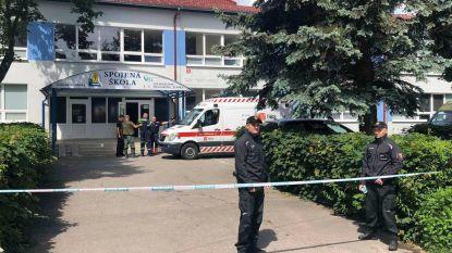 Jongeman (22) valt aan met mes in Slowaakse school: dode en vier gewonden, onder wie twee kinderen
