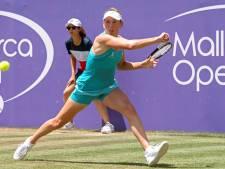 Elise Mertens accède aux quarts de finale en simple et en double à Majorque