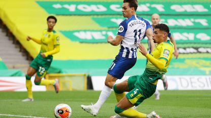 10 punten met dank aan ex-Genkspeler: scorende Leandro Trossard houdt Brighton in Premier League