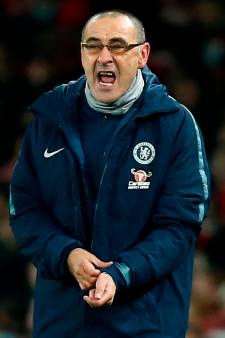 'Extreem boze' Sarri fileert Chelsea: 'Spelers niet te motiveren'