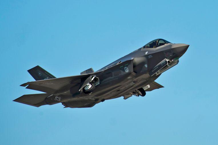 Archieffoto van een F-35A-straaljager.