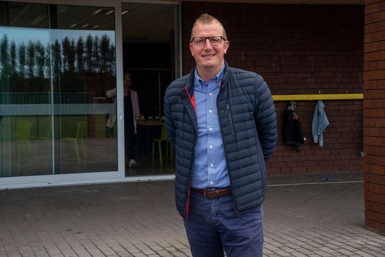 Schepen van onderwijs Kristof De Smet (SAMEN) van Wichelen.