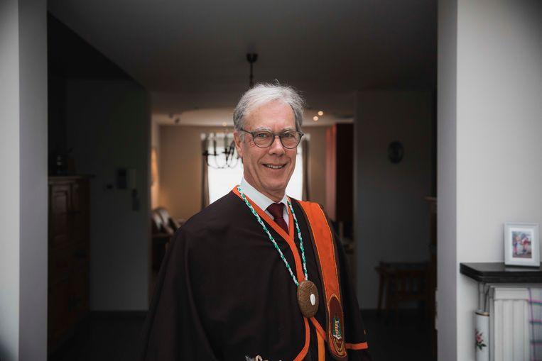 Yves Buckinx van de Orde van de Hasseltse speculaas.