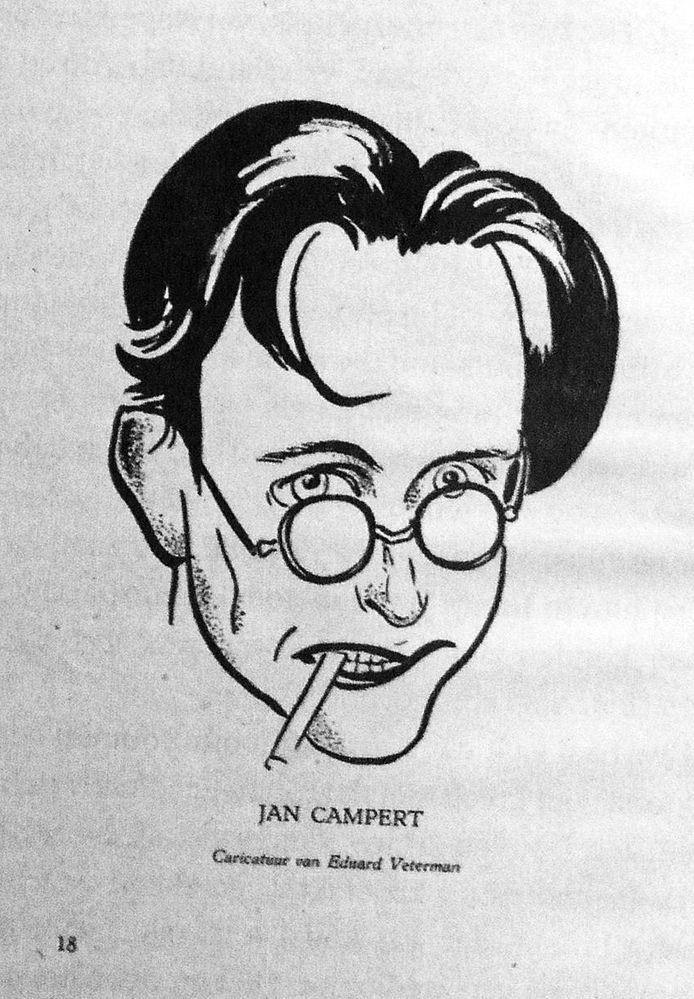 Jan Campert, illustratie Eduard Veterman, opgenomen in boek Zonen van Westkapelle