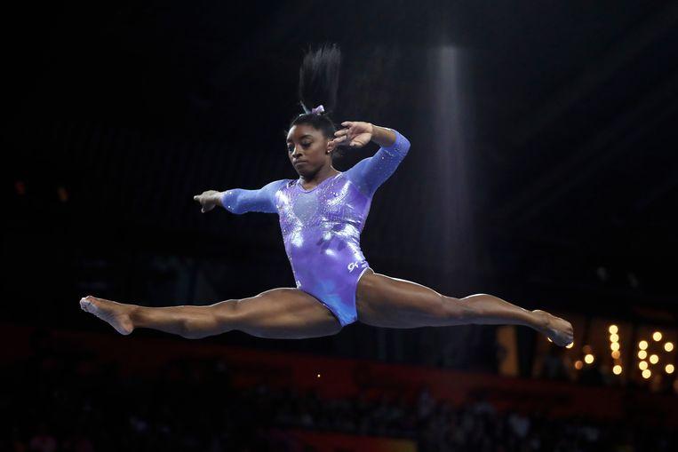 Larry Nassar misbruikte verschillende leden van het olympische team, onder wie olympisch kampioene Simone Biles. Hij is veroordeeld voor tot een levenslange gevangenisstraf. Beeld AP