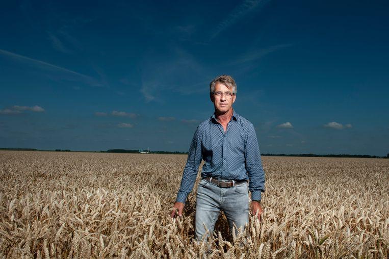 Arnold Michielsen, akkerbouwer in Dronten. 'Boeren willen door de hoge prijs van de grond in korte tijd zo veel mogelijk verdienen.' Beeld Reyer Boxem
