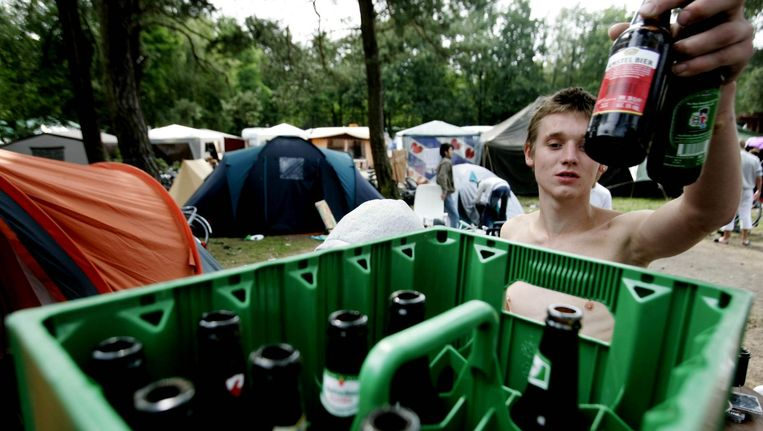 Jongerencamping Dennenoord in Giethmen Beeld anp