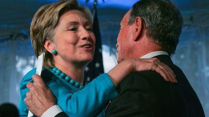 """Bloomberg overweegt Hillary als running mate"""