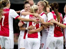 Voetbalsters Ajax naar Champions League