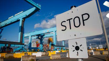 Vier transmigranten vliegen zes maanden achter de tralies voor het binnendringen van de haven in Zeebrugge