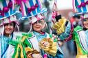 Archieffoto van de carnavalsoptocht in Zeddam.