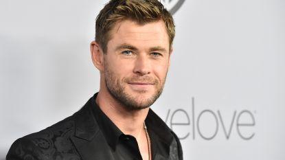 Zoontje verbaast Chris Hemsworth: 'Ik moet op zoek naar een andere verstopplaats voor onze chocolade'