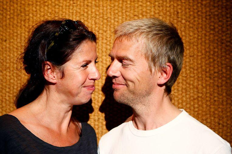 Isa en Antonie in 2010. Beeld ANP