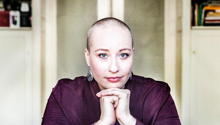 Getuigenis zangeres en celliste Michelle Courtens:'Ik wil Weissman niet langer de hand boven het hoofd houden.' Beeld Aurélie Geurts