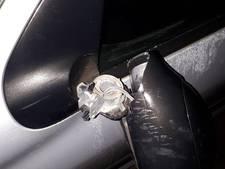 Zes minderjarigen trappen autospiegels kapot in Oost-Souburg