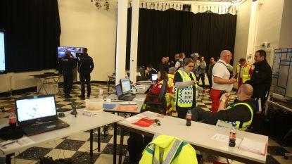 Rode Kruis, politie en brandweer volgden feestgedruis op de voet in Oude Post