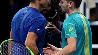 """Nadal strooit met complimentjes naar Goffin - Bemelmans moet voorbij """"Aziatische machine"""""""