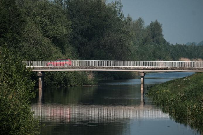 Het stromend houden van het water in de Berkel (hier bij Rekken) is van belang voor de waterkwaliteit.