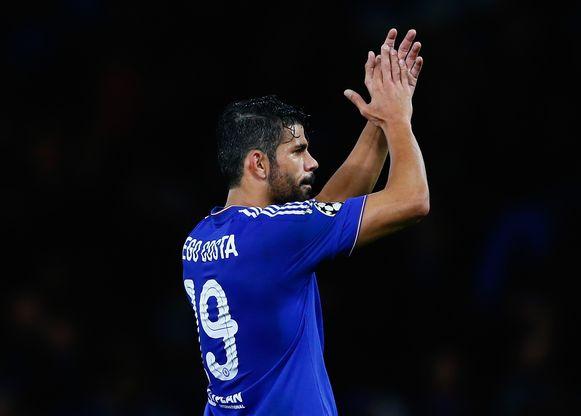 Costa scoorde na de pauze een fantastische goal.