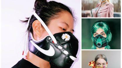 Mondmaskers worden modeaccessoires: zo maak je er zelf een