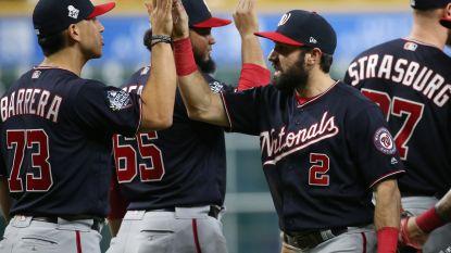 Washington Nationals dwingen beslissend duel af tegen Houston Astros in World Series baseball