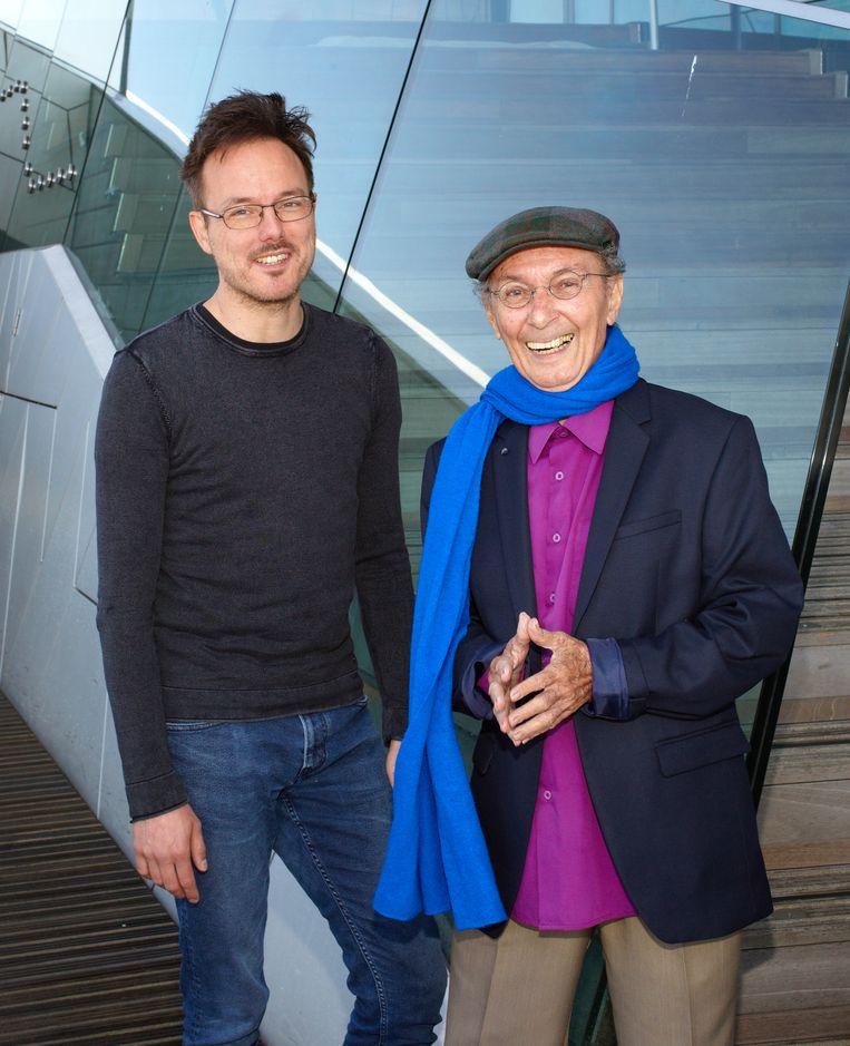 Pim de la Parra (rechts) en Kevin Toma. Beeld Daniel Cohen