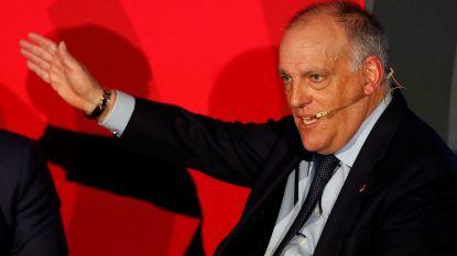 Spaanse voetballers verzetten zich tegen technische werkloosheid