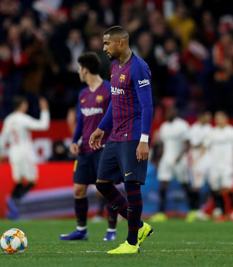 Uitblinker Promes helpt Sevilla aan zege in eerste kwartfinaleduel met Barça