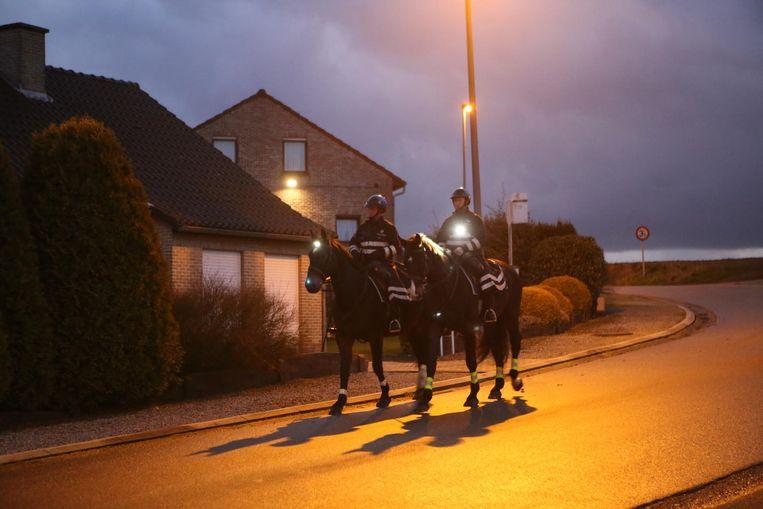 De federale cavalerie zal de komende weken patrouilleren in enkele woonwijken.
