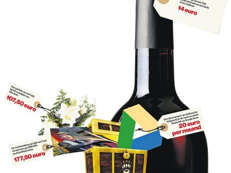 Vergoedingen Den Bosch: fractie niet beter van een flesje wijn of graftak